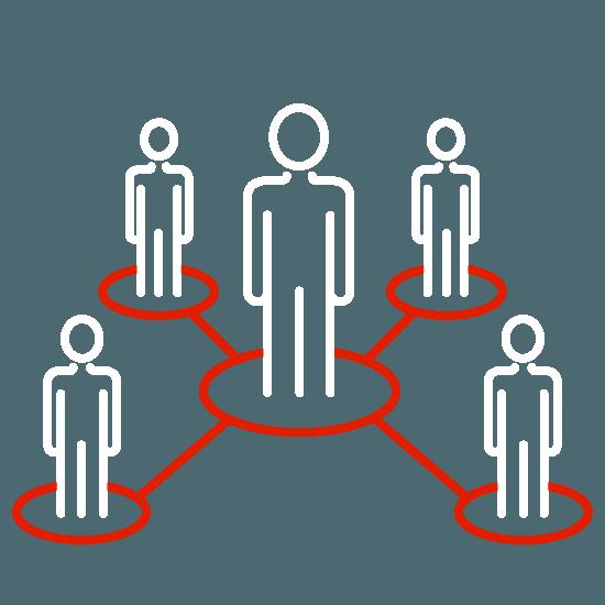 Grafik Leistungen für Unternehmen