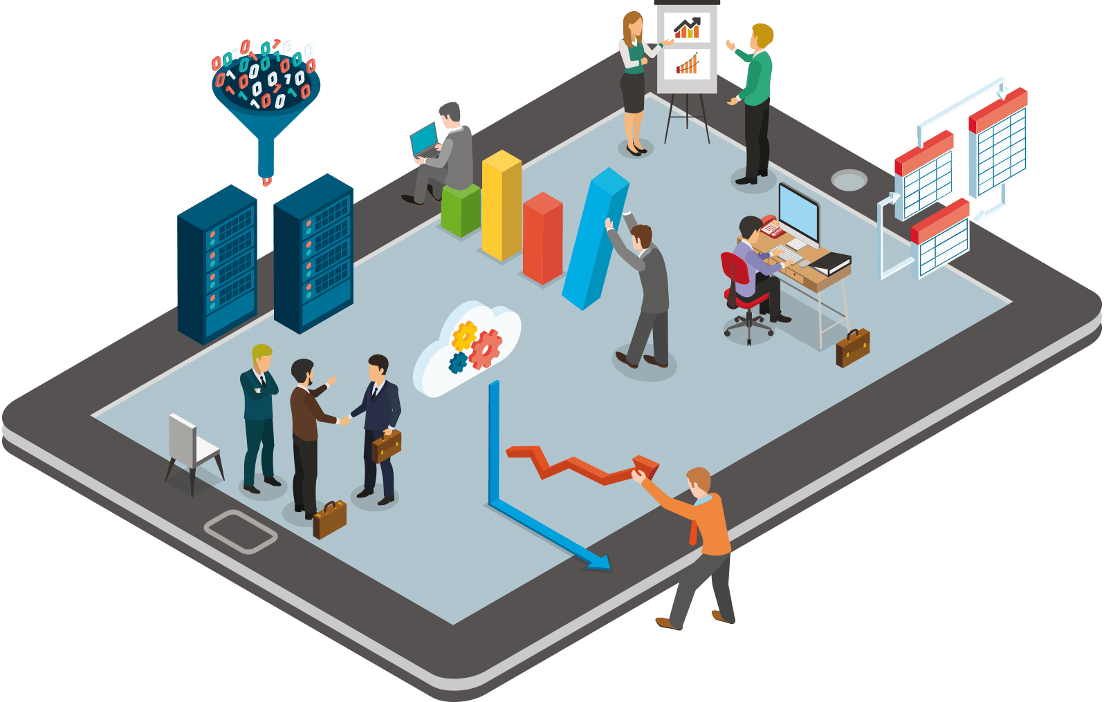 Grafik Business Partner 4.0