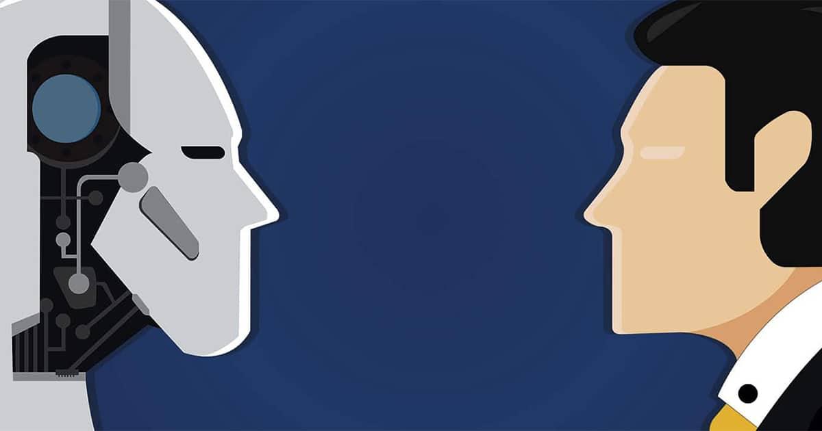 Mensch-gegen-Maschine