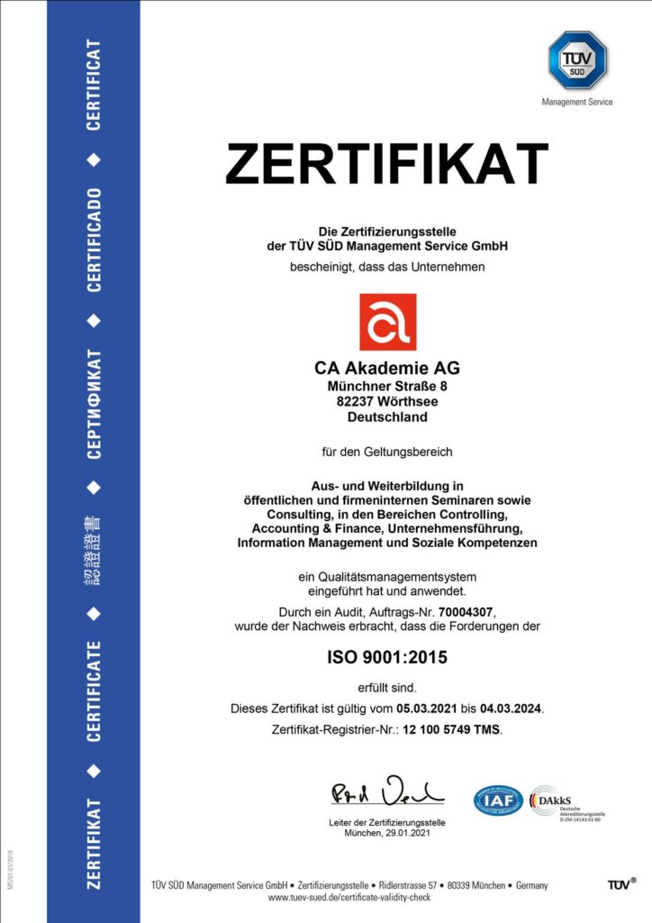 Fachnews_TÜV Zertifikat-Deutsch 2021